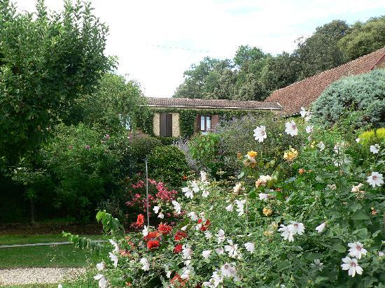 La Ferme Fleurie: Part of Extensive Garden