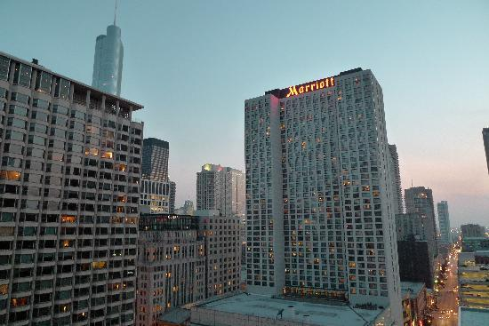 Inn of Chicago: Views from the terrace