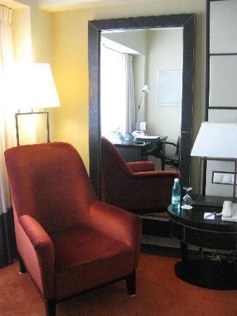 Radisson Blu Hotel Bucharest: stylish furniture