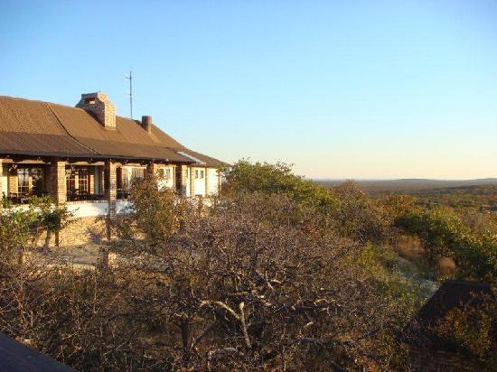 Etosha Safari Lodge: das Haupthaus
