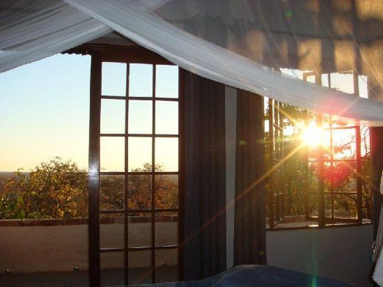 Etosha Safari Lodge: Ausblick aus dem Zimmer