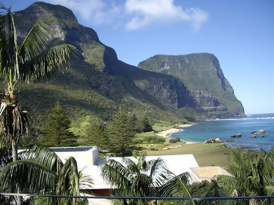 Lord Howe Island, Australia: The fabulous view from our suite.