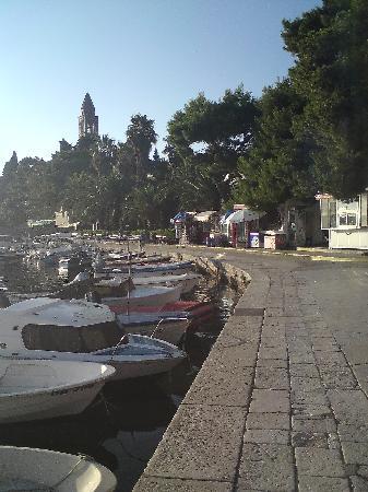 Apartments Lili Lopud : Lopud harbour