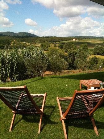Siena House: Tuscan hills