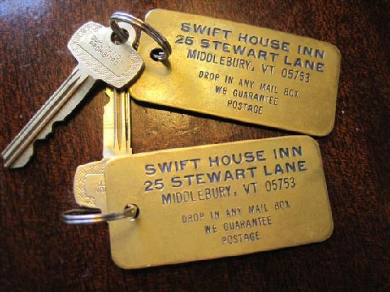 Swift House Inn: Keys