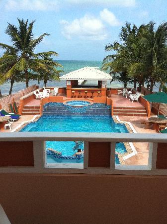 Island Magic Beach Resort: View from the balcony