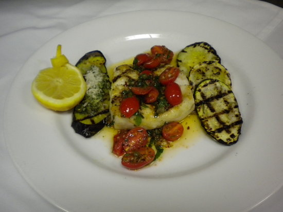 City Grill: Grilled Trple Tail with Grilled Summer Vegetables