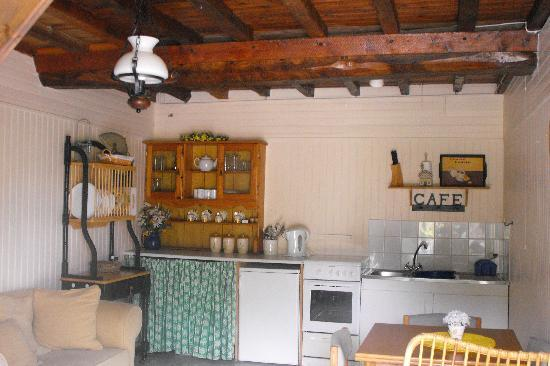 Graignes, France: Kitchen
