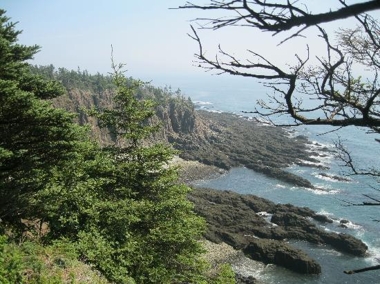 New Brunswick, Canada: Cliff hike