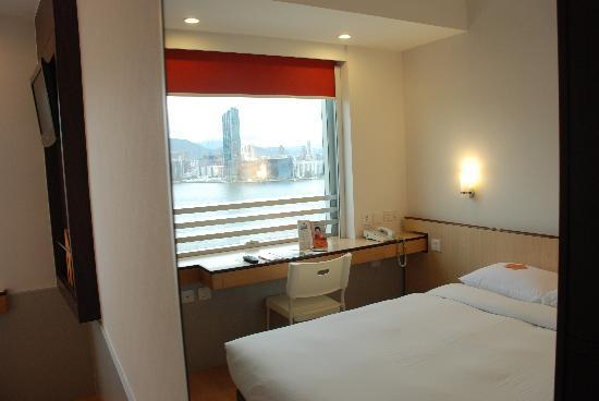 Ibis Hong Kong North Point: Newly renovated room with harbor view