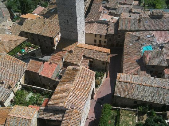 ‪‪Villa Ugo‬: San Gimignano Tower View‬