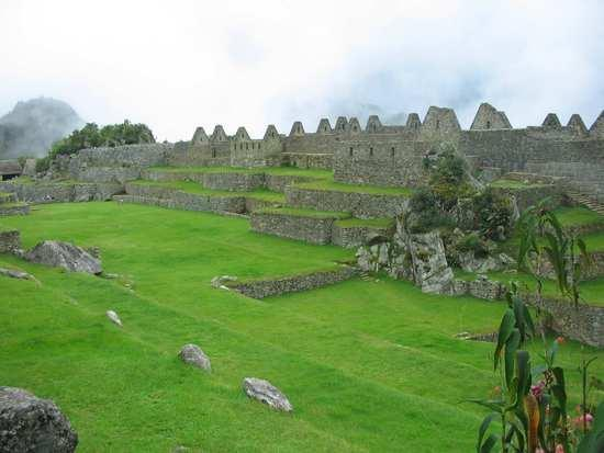 La Plaza Principal de Machu Picchu