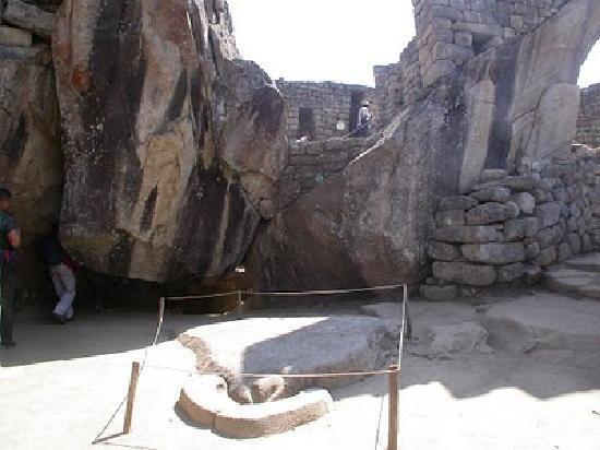 Machu Picchu, Pérou : El Templo del Condor