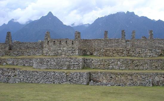 Machu Picchu, Pérou : Sector Industrial - Tres Portadas