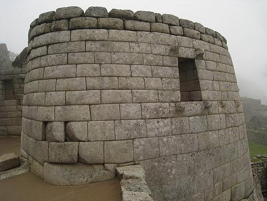 Machu Picchu, Pérou : El Templo del Sol