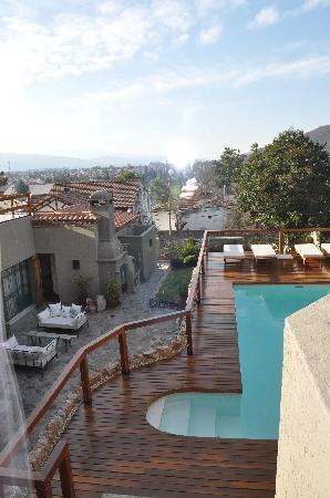 Kkala Boutique Hotel: Vista desde balcón