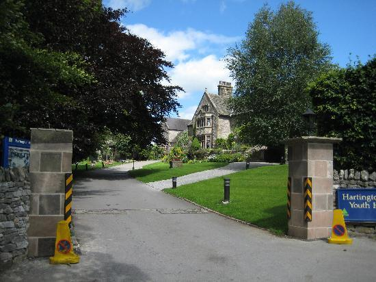 YHA Hartington Hall: view from the road