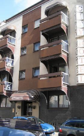 City Hotel: Hotel von außen