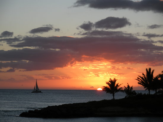Marriott Ko Olina Beach Club: Sunset