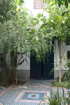 Dar Naima: cortile