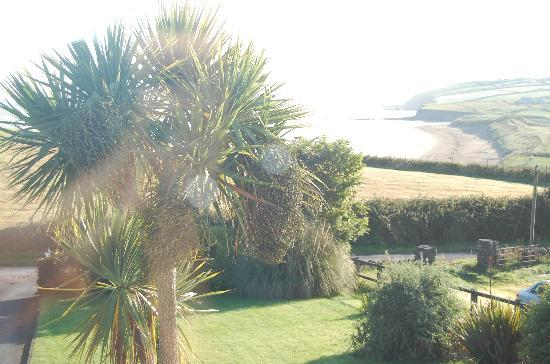 Louisburgh, Ireland: the view from our room