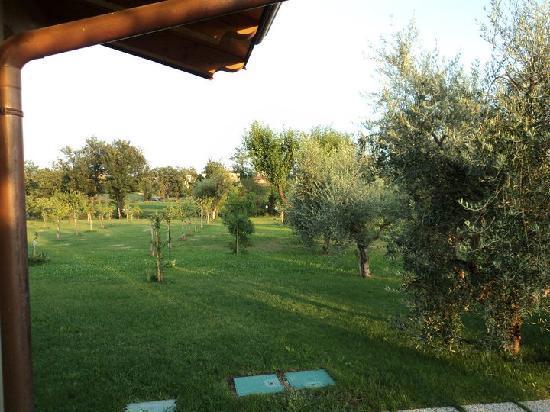 Locanda da Vittorio: parte del giardino