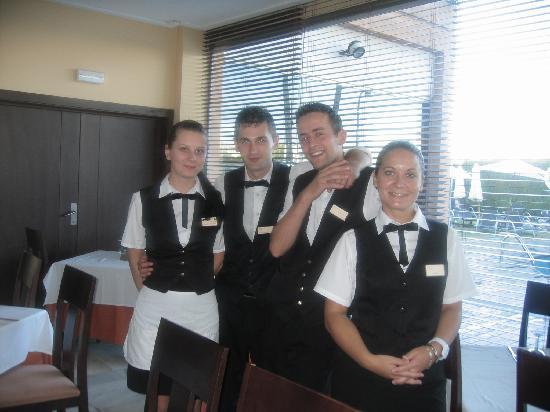 Illot Suites & Spa: Super équipe du restaurant
