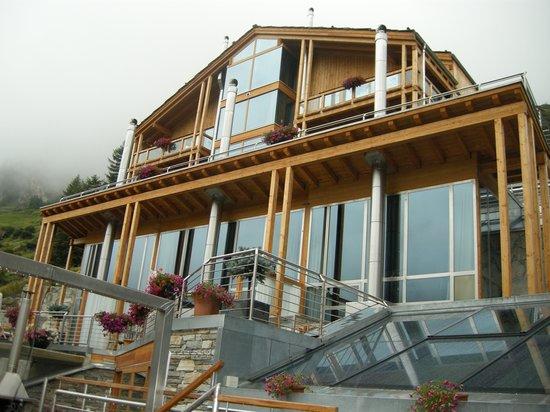 Coeur des Alpes: Hotel vista parte nueva