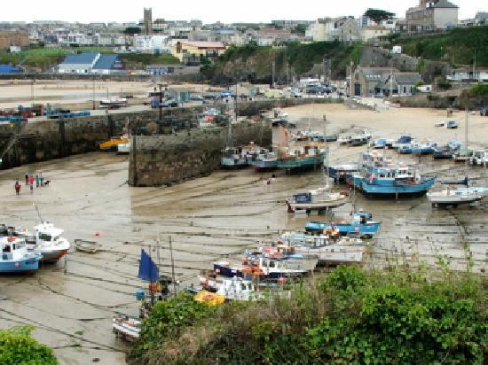Cottage Hotel: Newquay harbour