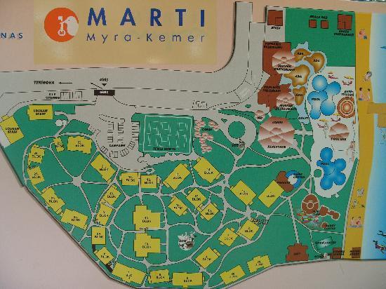 Marti Myra: Map