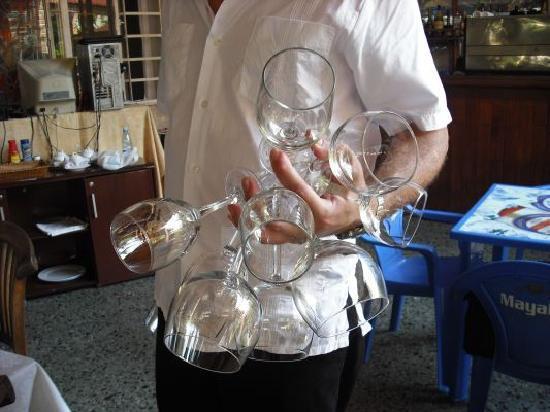 La Fontana : Our bartender