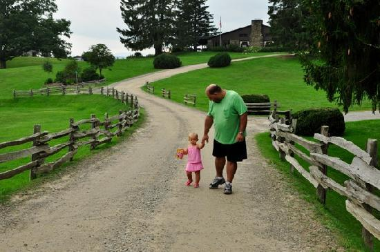The Cataloochee Ranch : great for children