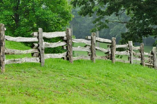 The Cataloochee Ranch : I am a photographer, I loved taking pictures of this fence