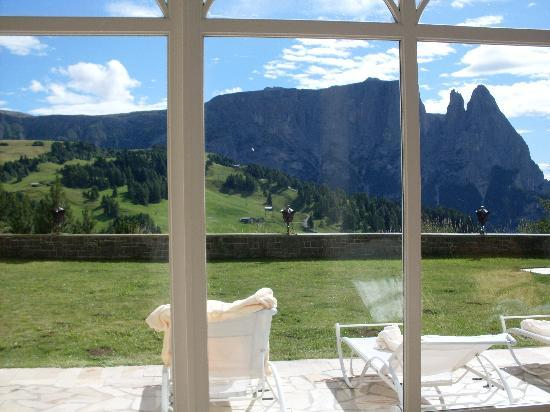 Hotel Rosa Eco Alpine Spa Resort: panorama