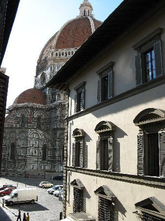Bed and Breakfast di Piazza del Duomo: vista dalla camera