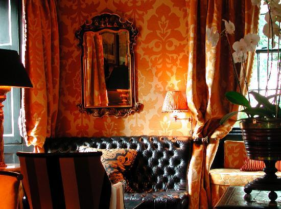 Prestonfield's chic Yellow Room