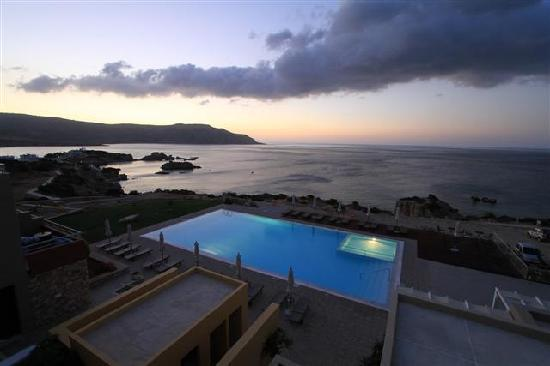 Apolis Hotel: alba dalla camera/ dawn from the room