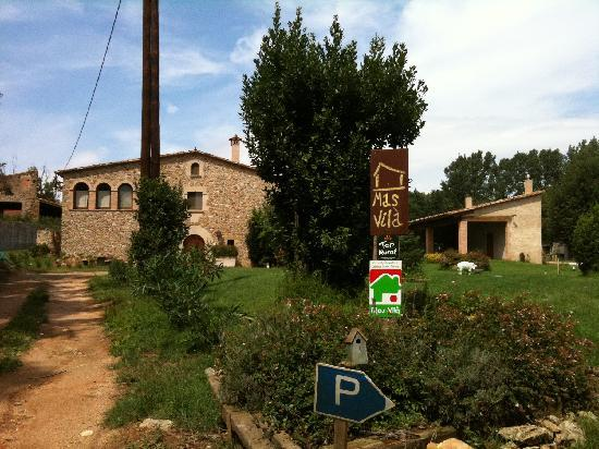 Mas Vila: Front of the house
