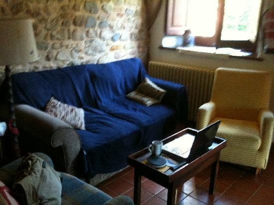 Mas Vila: living room