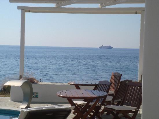 Melian Boutique Hotel & Spa : terrace view 2