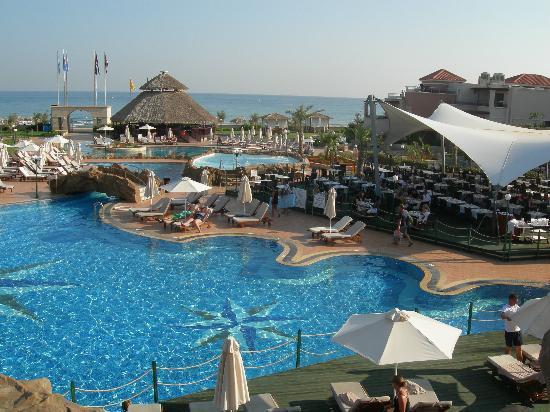 Atlantica Sensatori Resort Crete : Entree coté plage piscine adultes