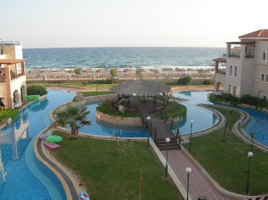 Atlantica Sensatori Resort Crete : les lagons acces direct des chambres