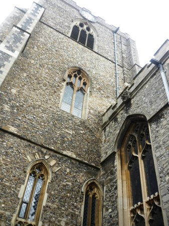 Bury St. Edmunds, UK: St. Marys Church Exterior
