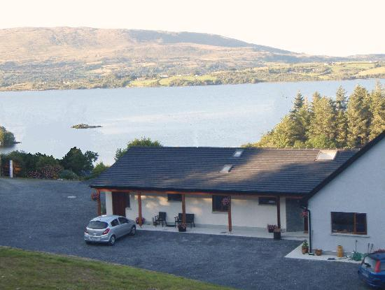 Nonaim Lodge Angling & Accommodation: Lough Corrib View from Nonaim Lodge