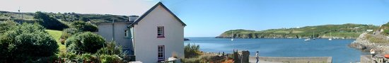 Cape Clear Island, ไอร์แลนด์: Panorama of Cape Clear Hostel