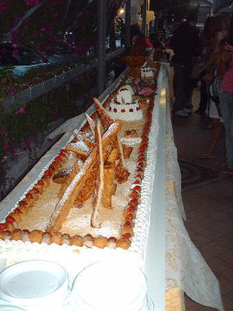 Hotel Faber: torta di ferragosto