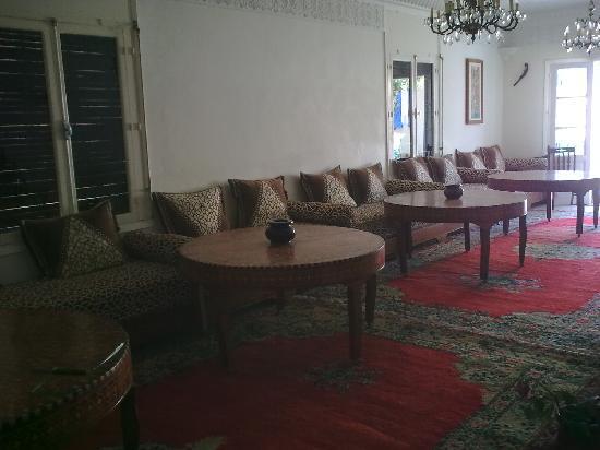 Villa Flora : Le salon