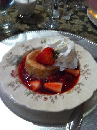 The Saragossa Inn B&B: Strawberry Shortcake
