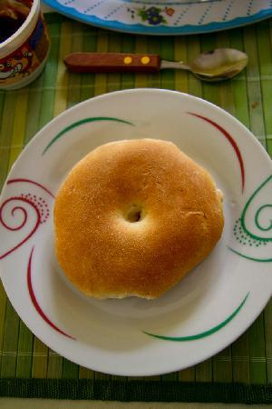 Casa Verde B&B : This is the bread you get at the breakfast, super jummy!