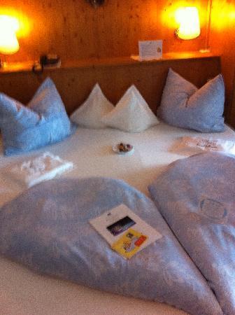 Luxury DolceVita Resort Preidlhof: Letto